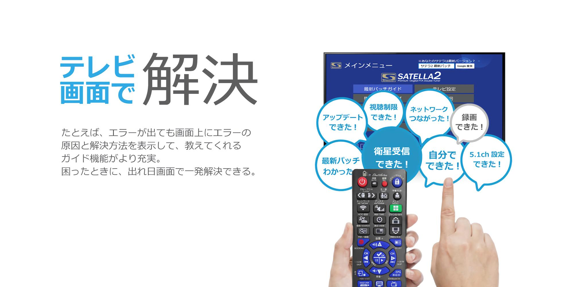 SATELLA2 remote controller